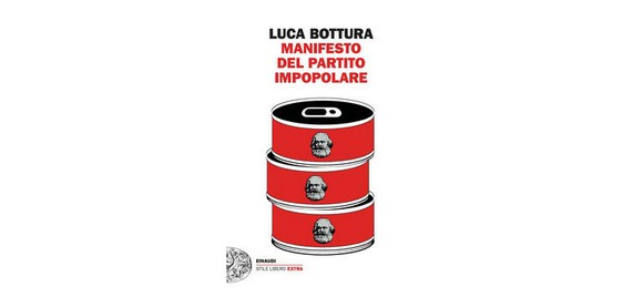 """""""Manifesto del partito impopolare"""", ultimo libro satirico di Luca Bottura. Domenica 8 agosto 2021 presentazione a Monghidoro"""